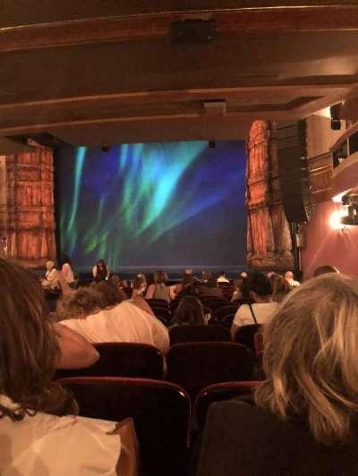 St. James Theatre, sección: Orchestra, fila: P, asiento: 24