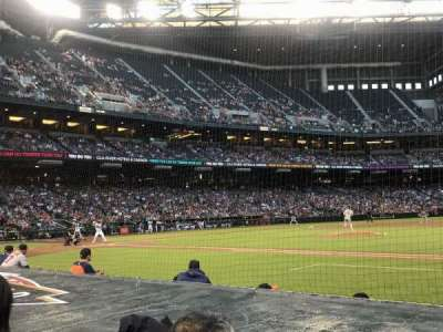 Chase Field, sección: D, fila: 7, asiento: 1 and 2