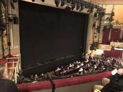 Neil Simon Theatre, sección: Front Mezz, fila: C, asiento: 11