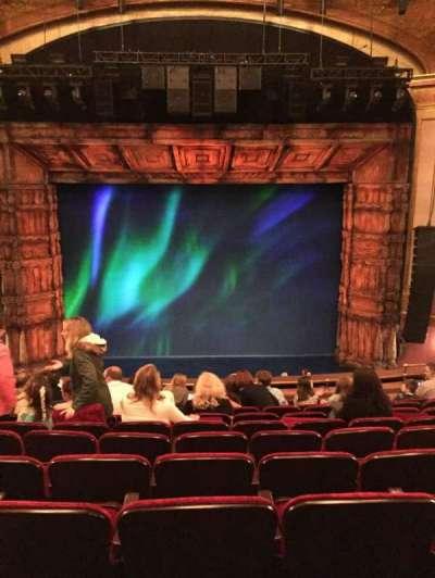 St. James Theatre, sección: Center Mezz, fila: K, asiento: 110