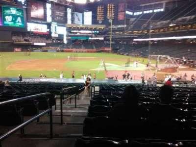 Chase Field, sección: 127, fila: 30, asiento: 19