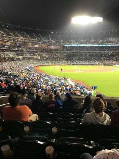 Citi Field, sección: 104, fila: 32, asiento: 4