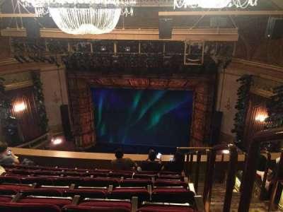 St. James Theatre, sección: BALCONY, fila: G, asiento: 101