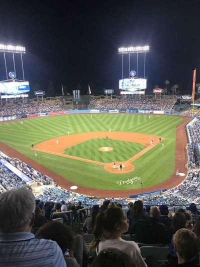 Dodger Stadium, sección: 3RS, fila: N, asiento: 22