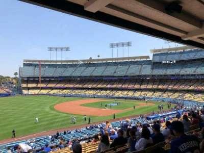 Dodger Stadium, sección: 155LG, fila: P, asiento: 4