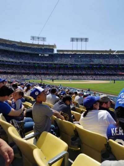 Dodger Stadium, sección: 46FD, fila: K, asiento: 9