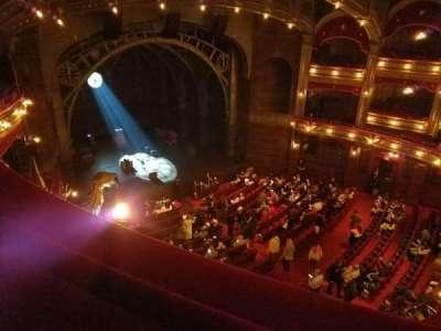 Lyric Theatre, sección: Balcony Left, fila: A, asiento: 25