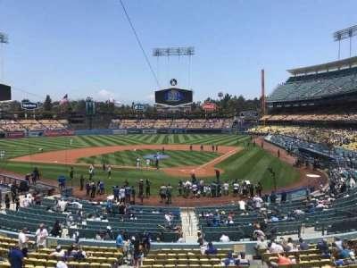Dodger Stadium, sección: 111LG, fila: B, asiento: 2