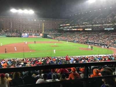 Oriole Park at Camden Yards, sección: 53, fila: 1, asiento: 14
