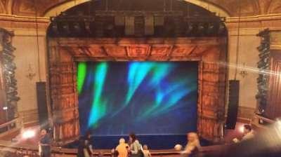 St. James Theatre, sección: Center Mezzanine, fila: M, asiento: 109