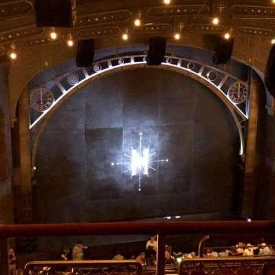 Lyric Theatre, sección: Balcony, fila: D, asiento: 7