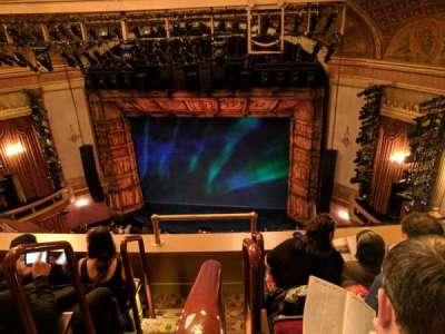 St. James Theatre, sección: BALCR, fila: D, asiento: 2