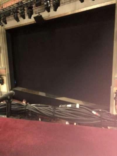 Neil Simon Theatre, sección: Mezzanine, fila: A, asiento: 6