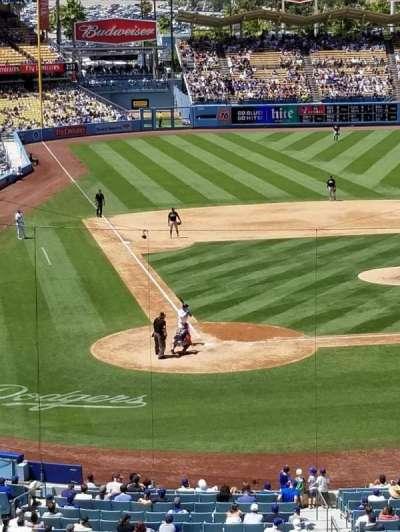 Dodger Stadium, sección: 118LG, fila: W, asiento: 2