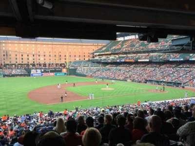Oriole Park at Camden Yards, sección: 55, fila: 9, asiento: 22
