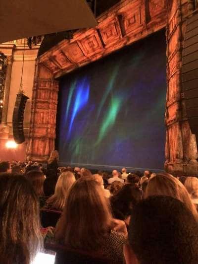 St. James Theatre, sección: ORCH, fila: L, asiento: 26
