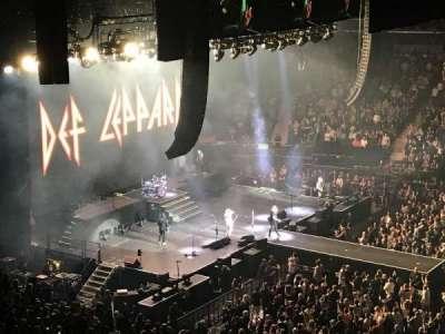 Madison Square Garden, sección: 225, fila: 10, asiento: 10