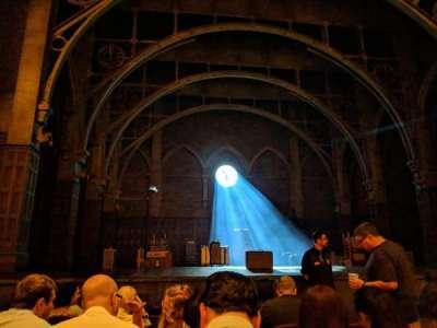 Lyric Theatre, sección: Orchestra, fila: F, asiento: 7