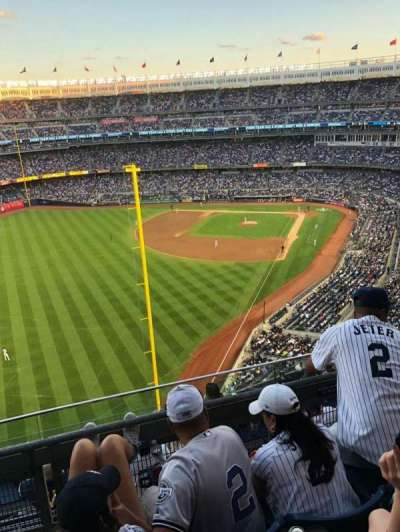 Yankee Stadium sección 431