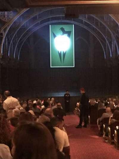 Lyric Theatre, sección: Orch, fila: W, asiento: 1