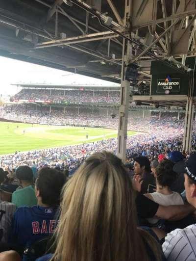 Wrigley Field, sección: 204, fila: 20, asiento: 5
