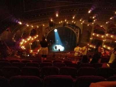 Lyric Theatre, sección: Balc L, fila: H, asiento: 9