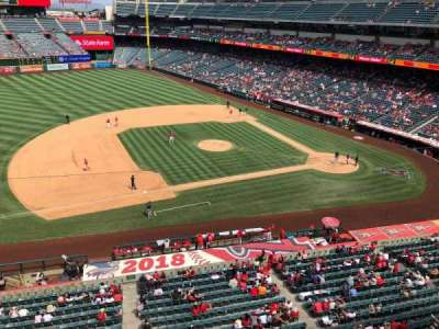 Angel Stadium sección V411