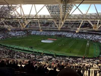 London Stadium sección 240