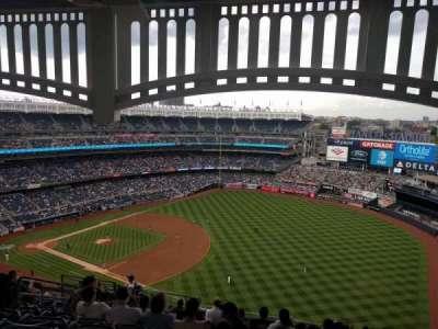 Yankee Stadium sección 411
