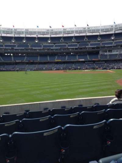Yankee Stadium, sección: 133, fila: 15, asiento: 11