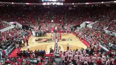 PNC Arena, sección: 112, fila: X, asiento: 2