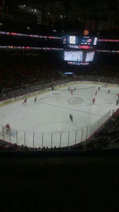 PNC Arena, sección: 210, fila: B, asiento: 1