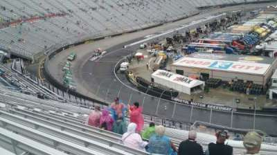 Bristol Motor Speedway, sección: Kulwicki K, fila: 38, asiento: 7