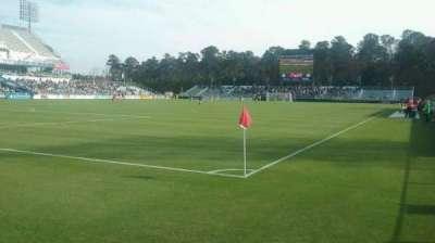 WakeMed Soccer Park, sección: 407, fila: 1, asiento: 5