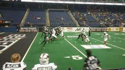 Greensboro Coliseum, sección: 106, fila: BB, asiento: 11