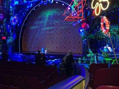 Palace Theatre (Broadway), sección: Orch, fila: L, asiento: 4