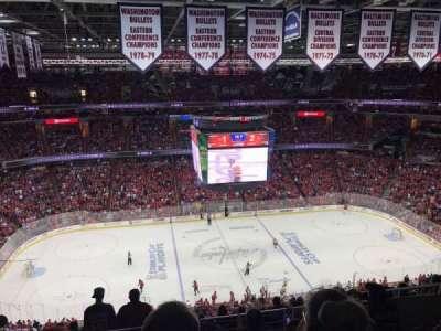 Capital One Arena, sección: 418, fila: 6