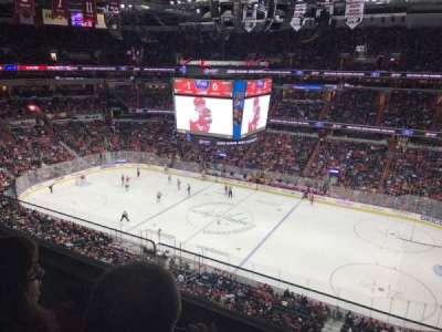 Capital One Arena, sección: 402, fila: 2