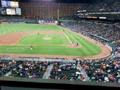 Oriole Park at Camden Yards, sección: 246, fila: 1, asiento: 7