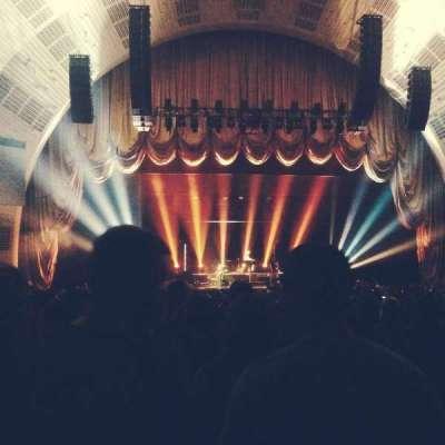 Radio City Music Hall, sección: Orchestra 5, fila: M, asiento: 501