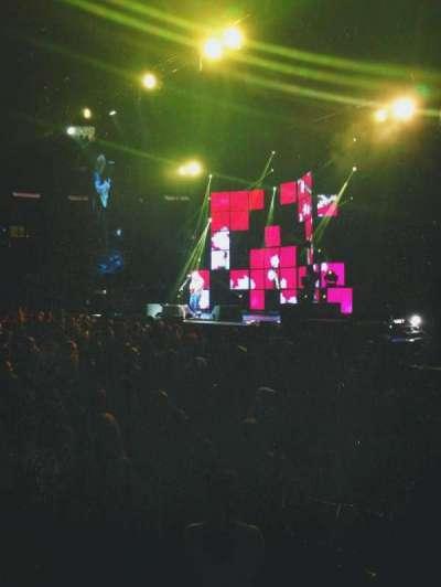 Madison Square Garden, sección: 108, fila: 1, asiento: 13