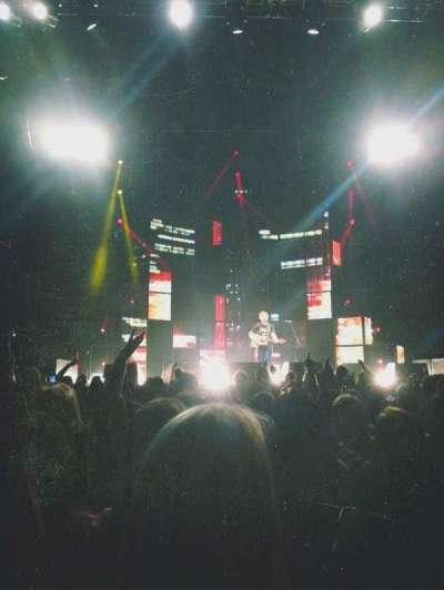 Madison Square Garden, sección: B, fila: 10, asiento: 6