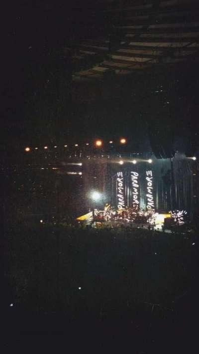 Madison Square Garden, sección: 105, fila: 16, asiento: 19