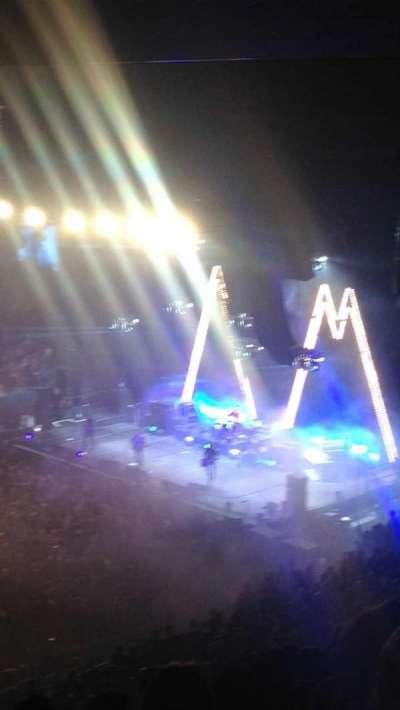 Madison Square Garden, sección: 210, fila: 14, asiento: 1