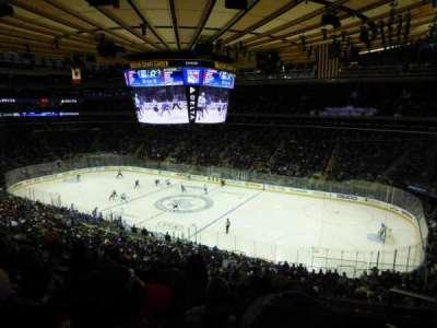 Madison Square Garden, sección: 213, fila: 5, asiento: 18