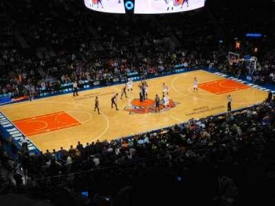 Madison Square Garden, sección: 209, fila: 10, asiento: 1