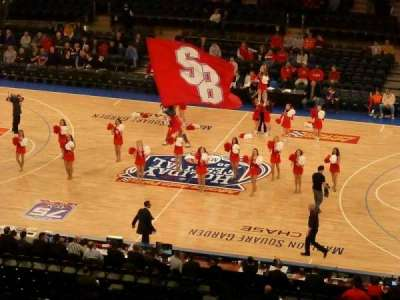 Madison Square Garden, sección: 212, fila: 11, asiento: 10