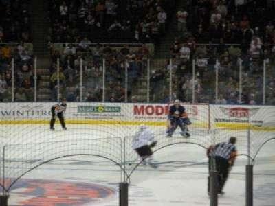 Old Nassau Veterans Memorial Coliseum, sección: 107, fila: J, asiento: 2