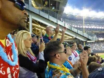 Yankee Stadium, sección: 203, fila: 8
