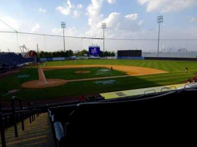 Richmond County Bank Ballpark, sección: 11, fila: V, asiento: 19